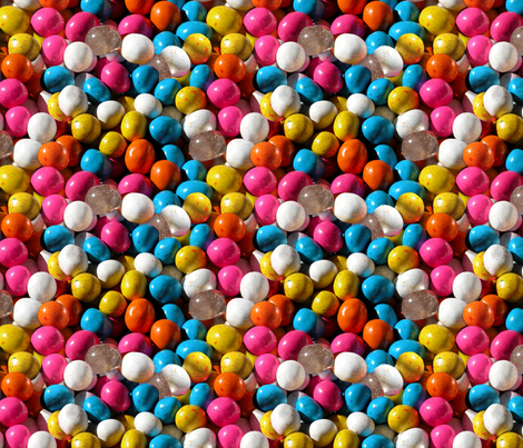 Easter candy with a crystal surprise fabric by hannafate on Spoonflower - custom fabric