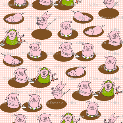 SteffFabrics Piggy Spa