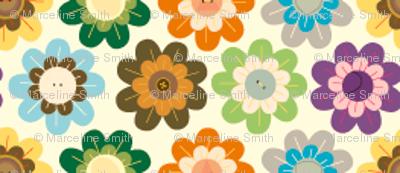Tiny Vintage Flowers