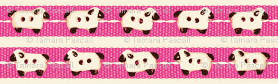 Sheep-on-Ribbons Pink