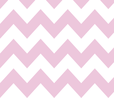 Pink chevron fabric by newmom on Spoonflower - custom fabric