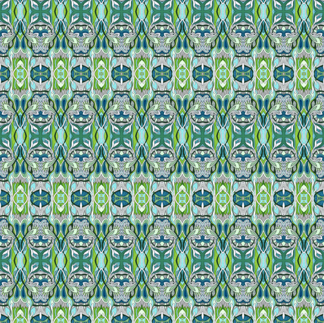 Seeking the sun fabric by edsel2084 on Spoonflower - custom fabric
