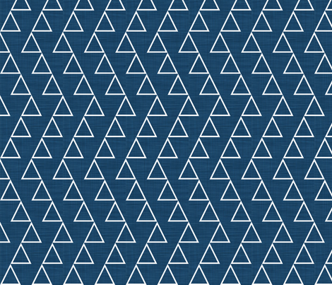 Dancing Triangles fabric by newmom on Spoonflower - custom fabric