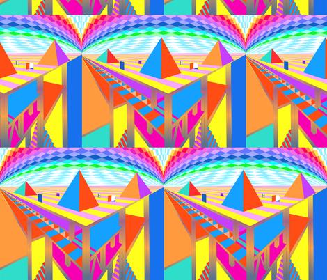 Pyramid2-Blythe Ayne fabric by blythe on Spoonflower - custom fabric