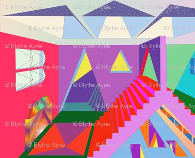 Inside The Pyramid - Blythe Ayne