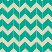 turquoise dimensional chevron
