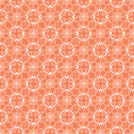 Peach Summer Sherbet fabric by strive on Spoonflower - custom fabric