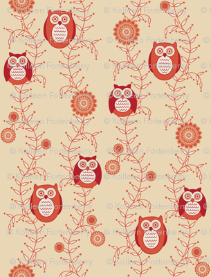 Retro Owls