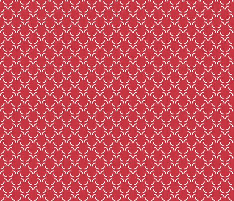Deconstructed circle -Red fabric by newmom on Spoonflower - custom fabric