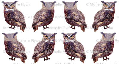 Mini Tuffed Ear Owls