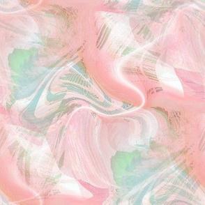 Peachy Pink Swirls