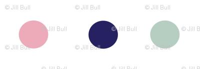 Boho Dots (large) ©2015 Jill Bull Palm Row Prints