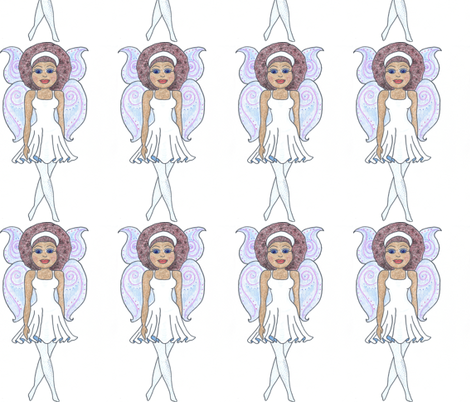 My Tooth Fairy fabric by lorigrace on Spoonflower - custom fabric