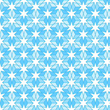 R6 E2r x3 (thin outline) fabric by sef on Spoonflower - custom fabric