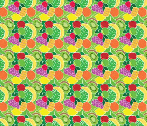 Fruit fabric by totallysevere on Spoonflower - custom fabric