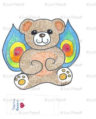 Rainbow Wing Tooth Beary