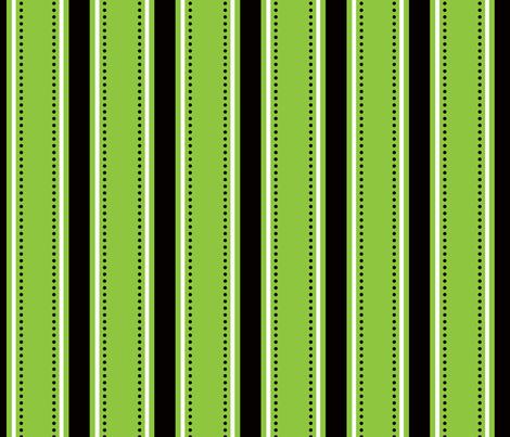 Green/Black Stripes