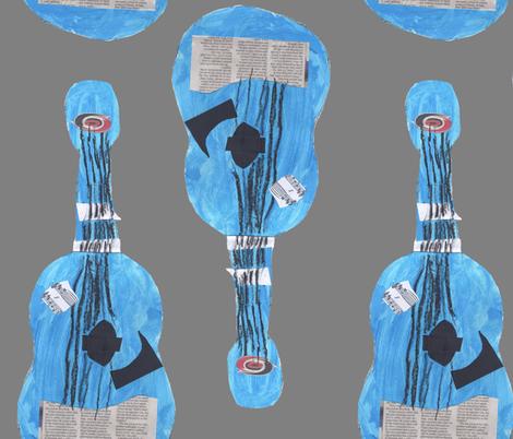leesguitar fabric by blueridgegirl on Spoonflower - custom fabric