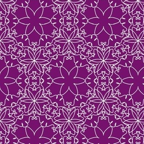 Delicate Lace - Royal Purple