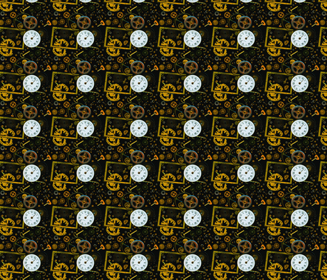 steampunk_pattern fabric by smart_cats on Spoonflower - custom fabric