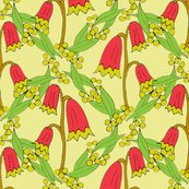 Rrrrchristmas_bells_and_golden_wattle_-_chartreuse_dots_-_by_rhonda_w_shop_thumb