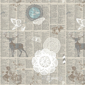 Deer dictionary text