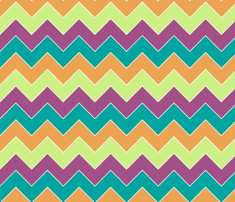 chevron1 fabric by mrshervi on Spoonflower - custom fabric