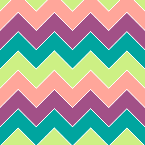chevron4 fabric by mrshervi on Spoonflower - custom fabric