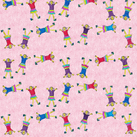 cartwheels fabric by wiccked on Spoonflower - custom fabric