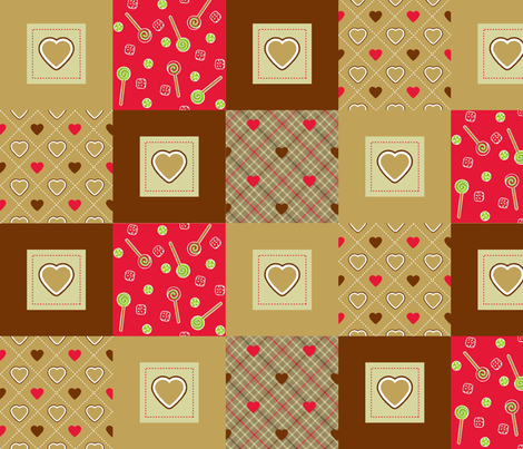 sweetie_extras_4 fabric by cjldesigns on Spoonflower - custom fabric