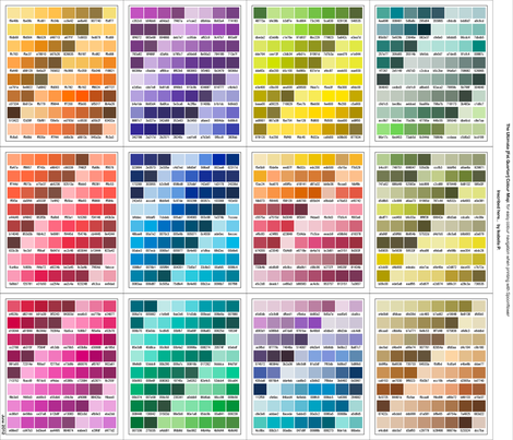 Ultimate [Fat Quarter] Colour Map fabric by inscribed_here on Spoonflower - custom fabric