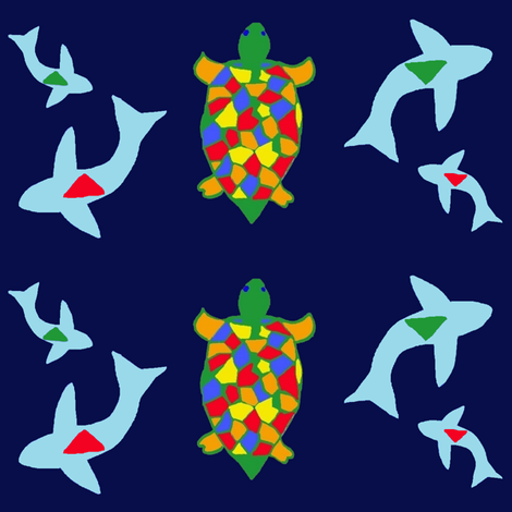 sea fabric by tgsn on Spoonflower - custom fabric