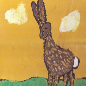 """Lars 6yo- """"bunny walking"""""""