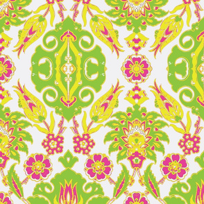 Tulip-Nar Green-Pink-Yellow