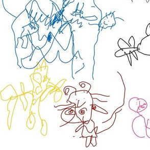 Cat Bugs and More by Rowan age 4