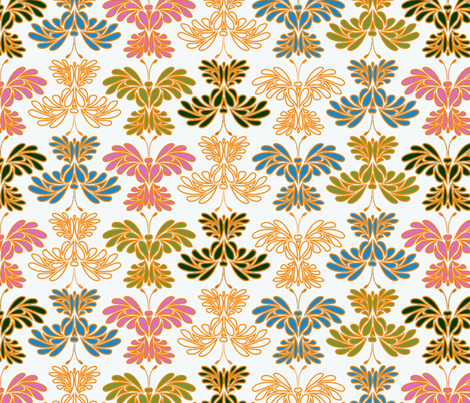 © 2011 Butterflums 01 fabric by glimmericks on Spoonflower - custom fabric