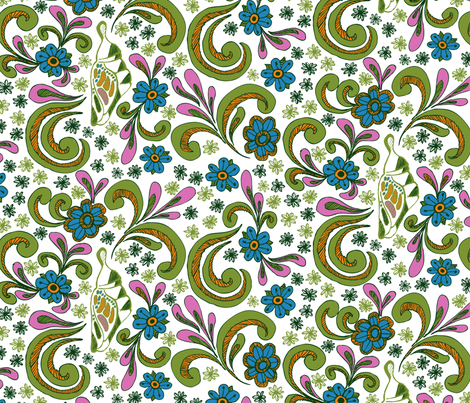 Hidden Cocoon fabric by ravenous on Spoonflower - custom fabric