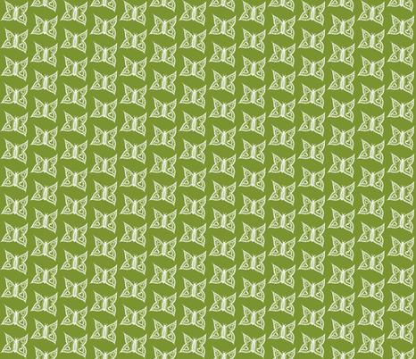 I heart butterflies fabric by littlebeardog on Spoonflower - custom fabric