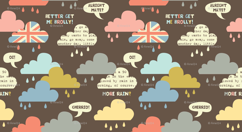Rainy London Wallpaper Rainy London Clouds Amel24