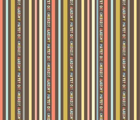 rainy london stripe fabric by amel24 on Spoonflower - custom fabric