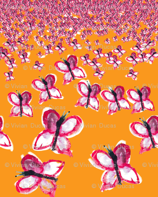 "C'EST LA VIVâ""¢ Border Collection_Bevy of Butterflies"