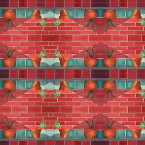 Garden Wall - mirror