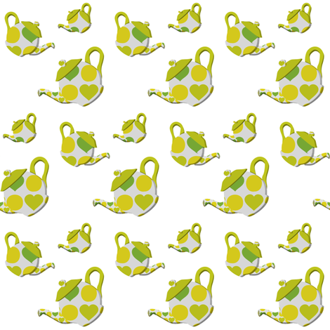 Potty Tea fabric by katlove on Spoonflower - custom fabric