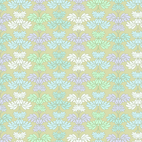 © 2011 Butterfly Spring Mist small fabric by glimmericks on Spoonflower - custom fabric