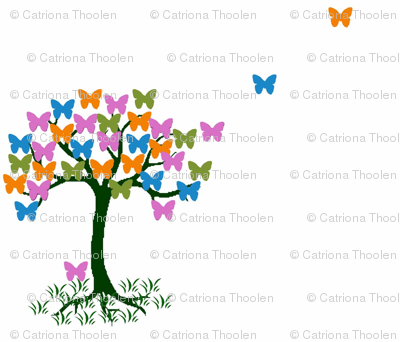 Small butterfly Tree