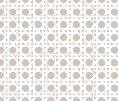 WICKER - Pebble fabric by lovedove on Spoonflower - custom fabric
