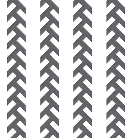 tracks- Dark_grey fabric by newmom on Spoonflower - custom fabric