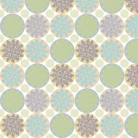 Tea Party Doilies fabric by kahoxworth on Spoonflower - custom fabric