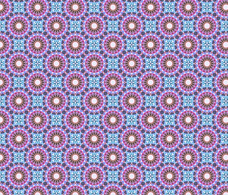 Fairground Fireworks - Fuschia. fabric by rhondadesigns on Spoonflower - custom fabric