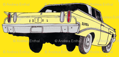 1960 Edsel Ranger Lemonade rear view